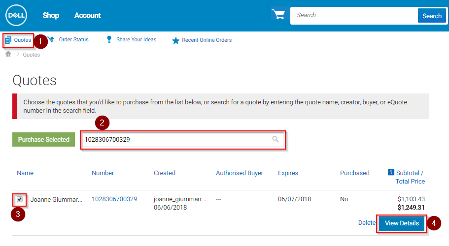 How To Process A Dell EQuote Procurement Services Enchanting Dell Quote To Order